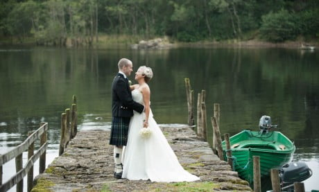 Ardanaiseig Wedding Loch View