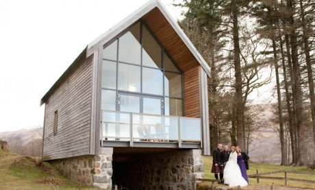 Ardanaiseig Boat Shed Wedding
