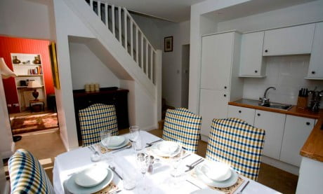 Ardanaiseig Rose Cottage Dining Room