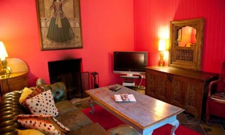 Ardanaiseig Rose Cottage Lounge