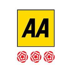 AA 3 Red Rosettes