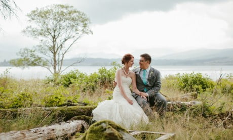 Weddings at Ardanaiseig - Photo taken by Christopher Currie