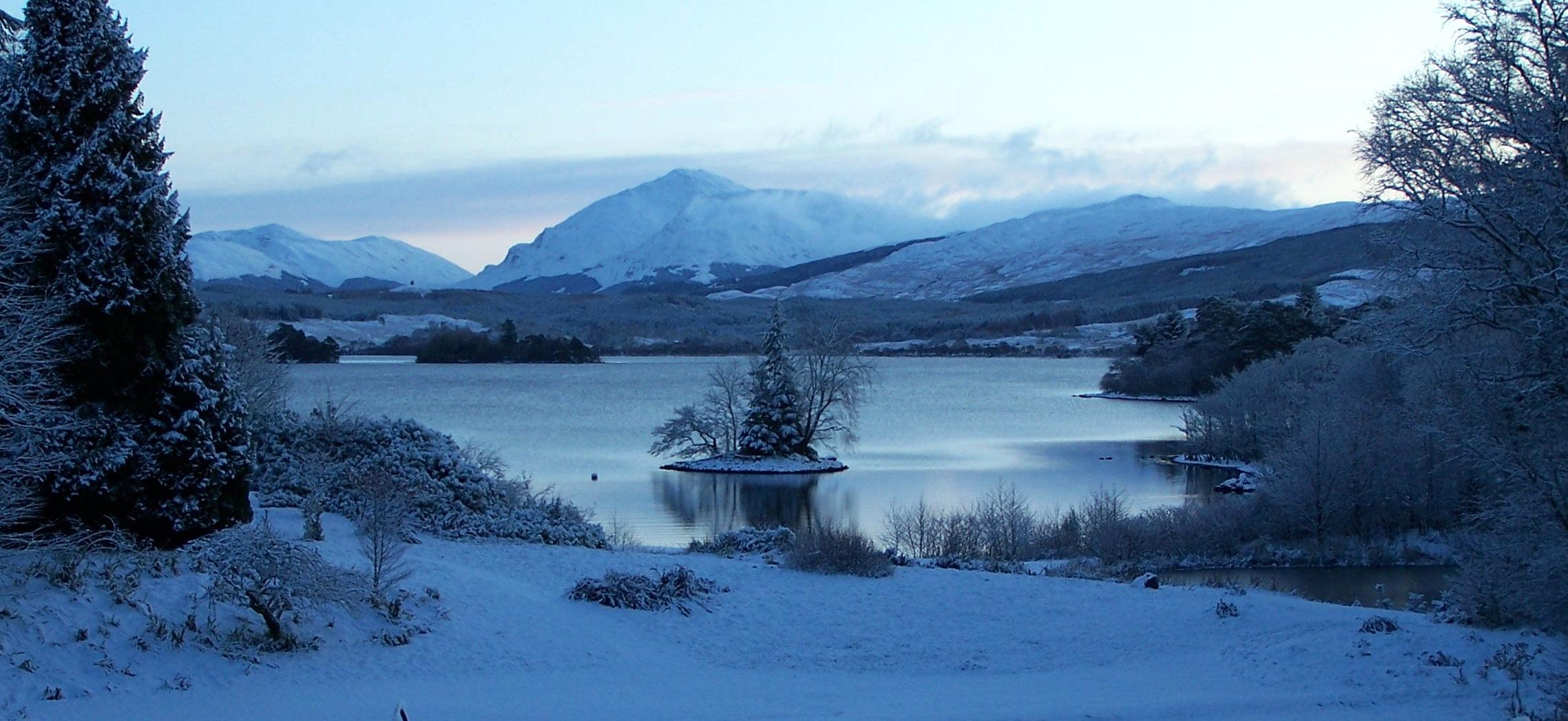 Ardanaiseig Loch Snowy