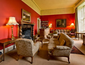 Enjoy a cosy evening in the library bar