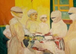 John Bellany painting