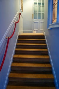 Reclaimed oak staircase