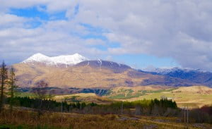 Ben Cruachan from the road