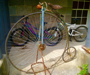 antique penny-farthing