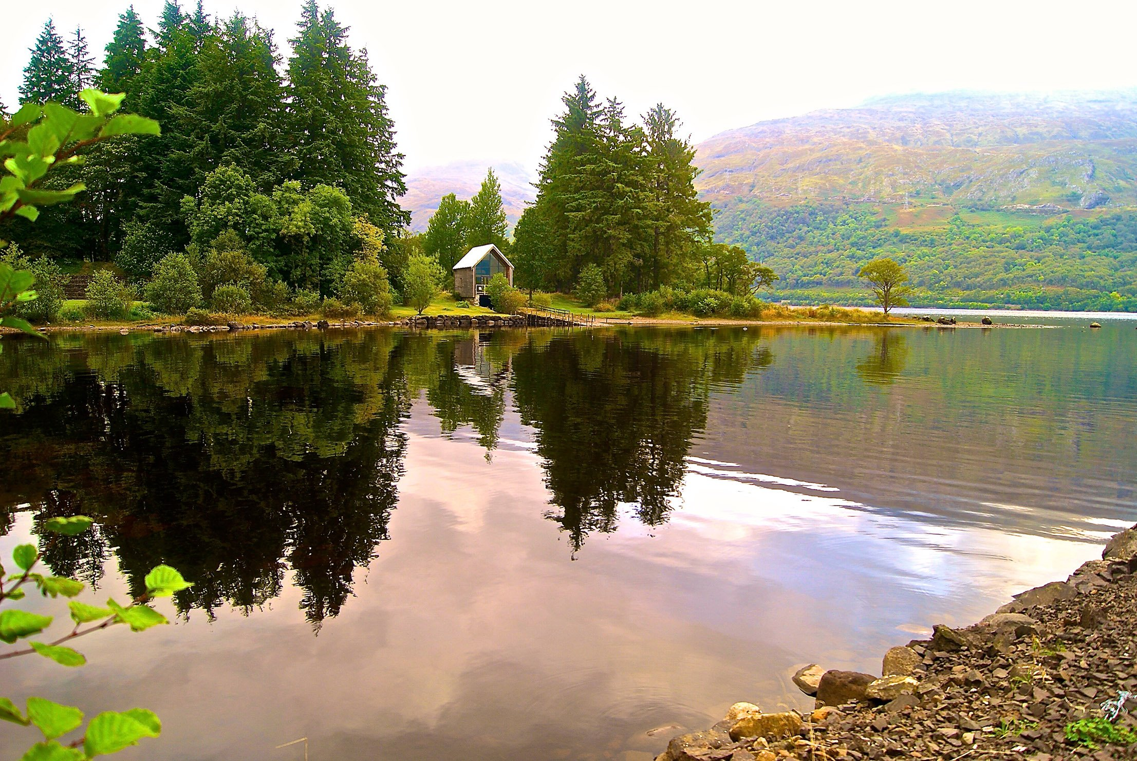 The Boatshed on Loch Awe