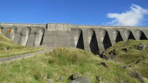 Cruachan Dam up close (photo courtesy of Ardanaiseig Hotel kitchen team member Sebastien Gouwy)