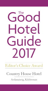Good Hotel Guide Awards 2017 COUNTRY HOUSE.i