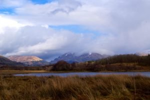 A view from the walk to Kilchurn Castle