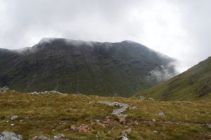 Views from a climb up Buachaille Etive Beag