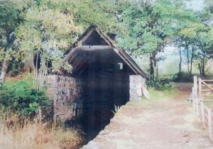 An old photo of the original Boatshed which has since been refurbished